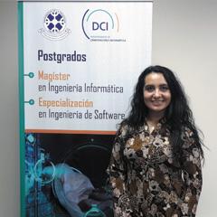 Mg. Ana Bustamante Mora : Coordinadora Académica Programa de Magíster y Especialización
