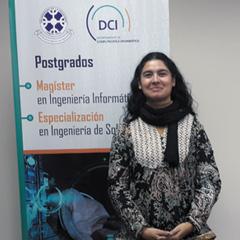 Dra. Ania Cravero Leal : Directora del Departamento de Ciencias de Computación e Informática DCI
