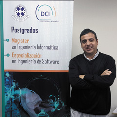 Mg. Jorge E. Díaz Villegas : Académico del Departamento de Ciencias de Computación e Informática