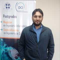 Mg. Daniel Endara Sauterel : Académico del Departamento de Ciencias de Computación e Informática