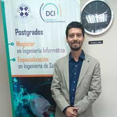 Dr. Jaime Díaz : Académico del Departamento de Ciencias de Computación e Informática