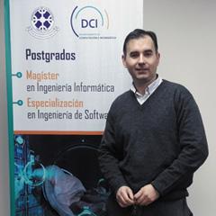 Mg. Jorge Hochstetter : Académico del Departamento de Ciencias de Computación e Informática