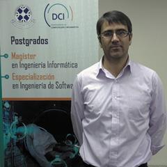 Dr. Patricio Galeas : Académico del Departamento de Ciencias de Computación e Informática