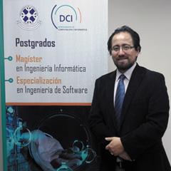 Mg. Víctor Aravena : Académico del Departamento de Ciencias de Computación e Informática